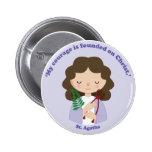 St. Agatha Buttons