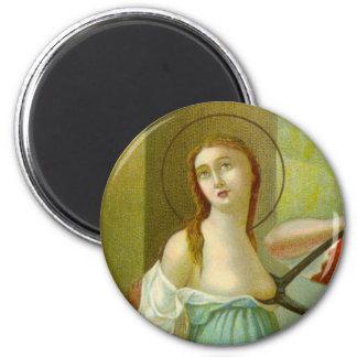 St. Agatha (M 003) Magnet