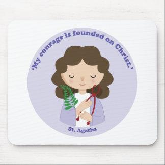 St. Agatha Mouse Pad