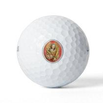 St Agatha Patron Saint of Breast Cancer Golf Balls