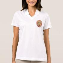 St Agatha Patron Saint of Breast Cancer Polo Shirt