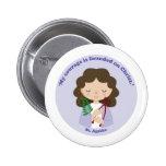 St. Agatha Pinback Buttons