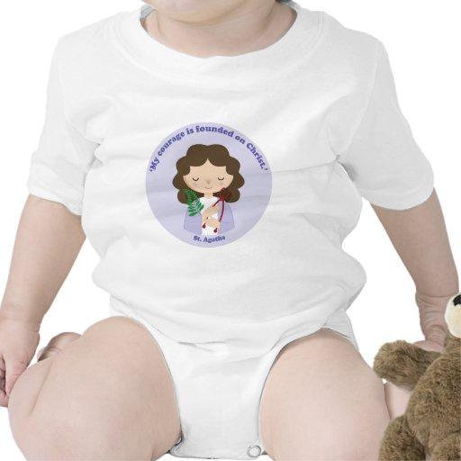 St. Agatha Camiseta
