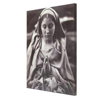 St. Agnes (albumen print) Canvas Print