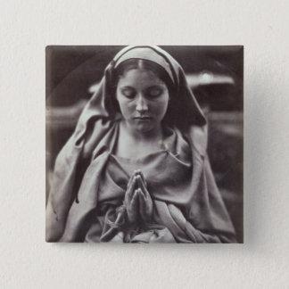 St. Agnes (albumen print) Pinback Button