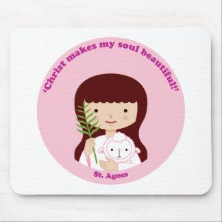 St. Agnes Mouse Pad
