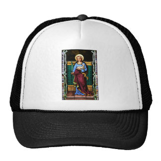 St Agnes of Rome, holding lamb and palm leaf Trucker Hat