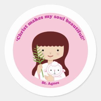 St. Agnes Stickers