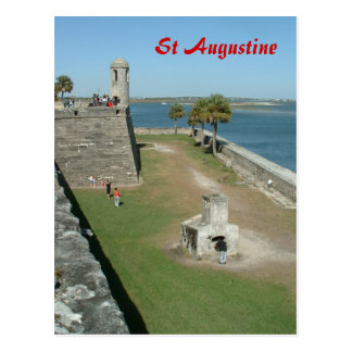 St Agustine Postcard