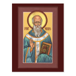 St Aidan de la tarjeta del rezo de Lindisfarne Tarjetas Postales