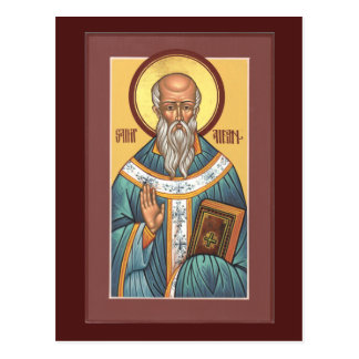 St. Aidan of Lindisfarne Prayer Card Post Card