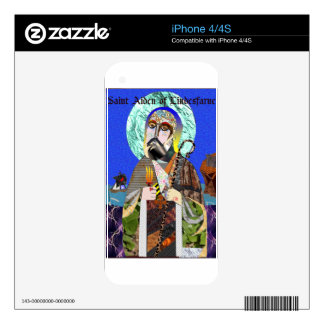 St. Aiden Decals For The iPhone 4