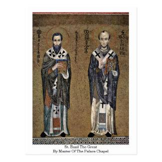 St. Albahaca el grande por el amo de la capilla de Tarjeta Postal