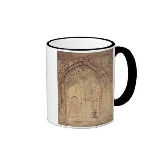 St. Alban's Cathedral, Hertfordshire, c.1797 (w/c, Coffee Mug