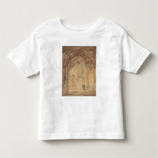 St. Alban's Cathedral, Hertfordshire, c.1797 (w/c, Toddler T-shirt