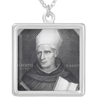 St Albertus Magnus, 1851 Silver Plated Necklace
