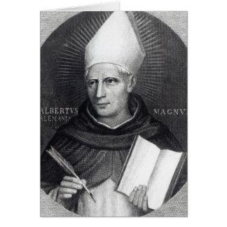 St Albertus Magnus, 1851 Tarjeta De Felicitación