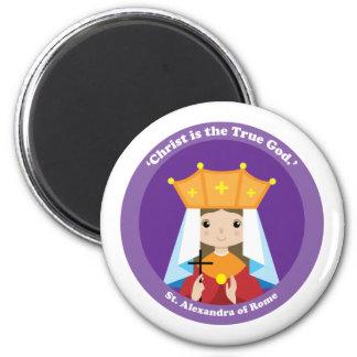 St. Alexandra of Rome Magnet