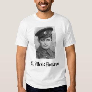 St. Alexie, St. Alexis Romanov Tee Shirts