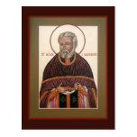 St. Alexis (Toth) de la tarjeta del rezo de la Tarjetas Postales