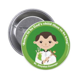 St. Aloysius Gonzaga Pinback Buttons