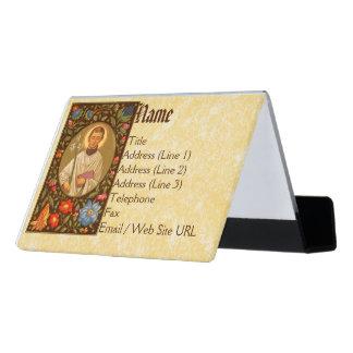 St. Aloysius Gonzaga (P.M. 01) Caja De Tarjetas De Visita Para Escritorio