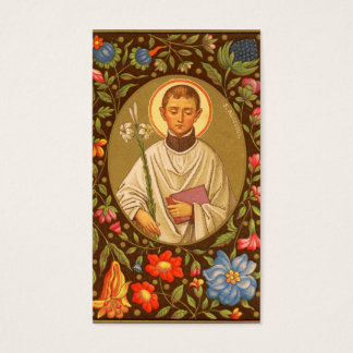 St. Aloysius Gonzaga (PM 01) Full Bleed Business Card