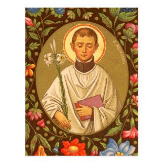 St. Aloysius Gonzaga (PM 01) Postcard #2