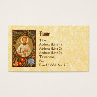 St. Aloysius Gonzaga (PM 01) Standard Business Card