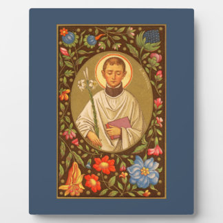 """St. Aloysius (PM 01) 8""""x10"""" Plaque #1 With Easel"""