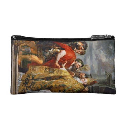St. Ambrose and Emperor Theodosius  Paul Rubens Makeup Bag