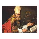 St. Ambrose by Matthias Stom Postcards