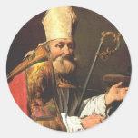 St. Ambrose by Matthias Stom Stickers
