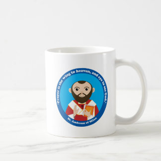 St. Ambrose of Milan Coffee Mug