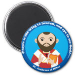 St. Ambrose of Milan Fridge Magnets
