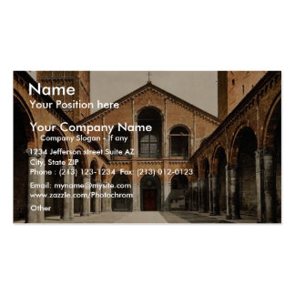 St. Ambrosius Church, Milan, Italy classic Photoch Double-Sided Standard Business Cards (Pack Of 100)