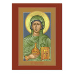 St. Anastasia Prayer Card Post Cards