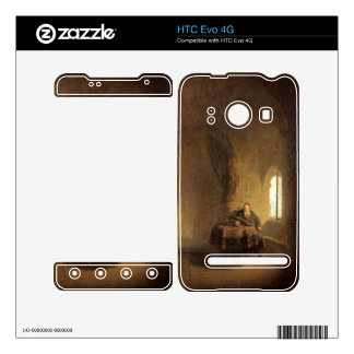 St Anastasius by Rembrandt Harmenszoon van Rijn Decal For The HTC Evo 4G