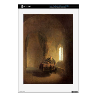St Anastasius by Rembrandt Harmenszoon van Rijn Skins For PS3