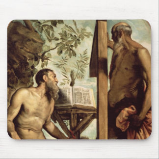 St. Andrew and St. Jerome Mouse Pad