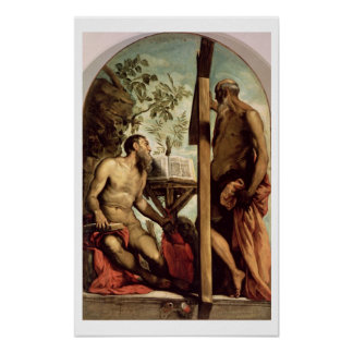 St. Andrew and St. Jerome Poster