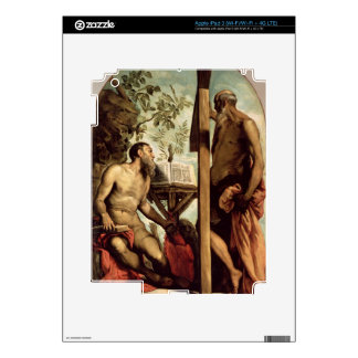 St. Andrew and St. Jerome Decal For iPad 3