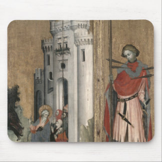 St. Andrew Chasing Demons from the Town Mouse Pad