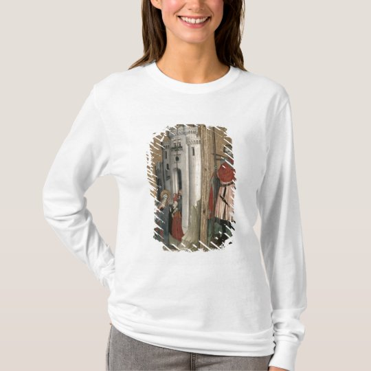 St. Andrew Chasing Demons from the Town T-Shirt