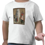 St. Andrew Chasing Demons from the Town Tshirt