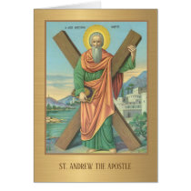 St. Andrew Christmas Novena Prayer Card