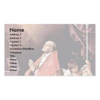 St. Andrew Corsini In Prayer By Reni Guido Business Cards