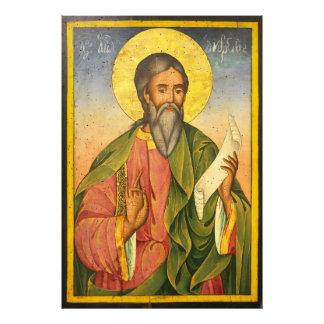 St Andrew el apóstol por Yoan de Gabrovo Impresion Fotografica