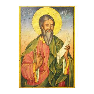St Andrew el apóstol por Yoan de Gabrovo Impresiones En Lienzo Estiradas