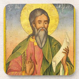 St Andrew el apóstol por Yoan de Gabrovo Posavasos De Bebidas